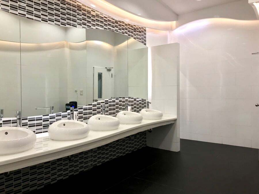 Commercial Bathroom Fitout